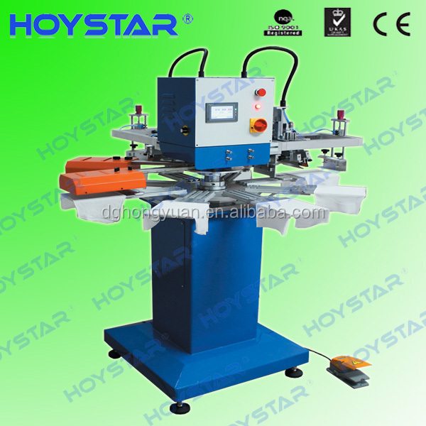 2 color swimming cap and socks screen printing machine for sale