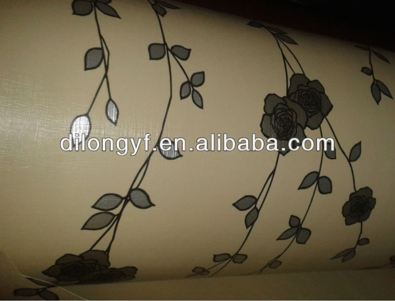 decoration pvc film production