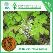 Bodybuilding supplements Epimedium Leaf extract for male health by HPLC