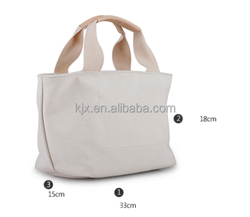 Promotional Logo Printed Custom Eco-Friendly Cotton Shopping Tote Bag With Logo