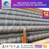 pe coated spiral welded oil painting balck steel anti-corrosion pipe