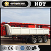 CIMC factory hydraulic U dump tipper Trailer for sale
