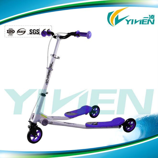 2013 Best Selling 3 Big Wheel Adjustable and Folding Push Scooters