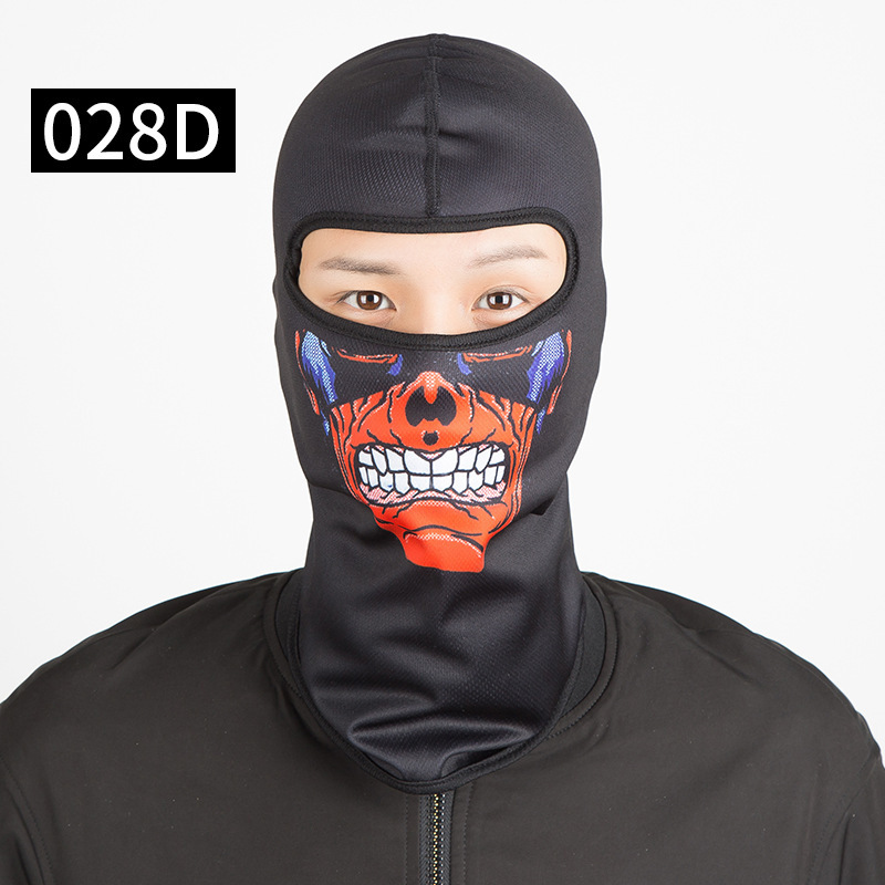 Skull Motorcycle Balaclava Full Face Mask Warm Motor Helmet Liner Ski Paintball Snowboard Biker Riding Shield Hood