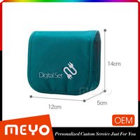 Wholesale cell phone storage bag cable line organizer digital set with zipper