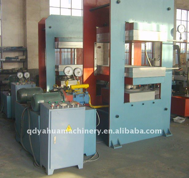 Rubber Speed Hump Vulcanizing Machine/Rubber Moulded Articles Making Machine/Rubber Matting Curing Press