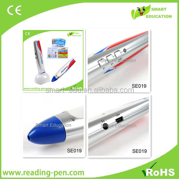 2016 Chrismas hot gift talking pen electronic education toy to learn English translate bahasa arab indonesia