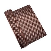 hotel woven place mat table food cover plastic pvc dining table cover kitchen floor anti slip ground mat