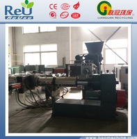 plastic pelletizing machine to recycle waste film and bags materials