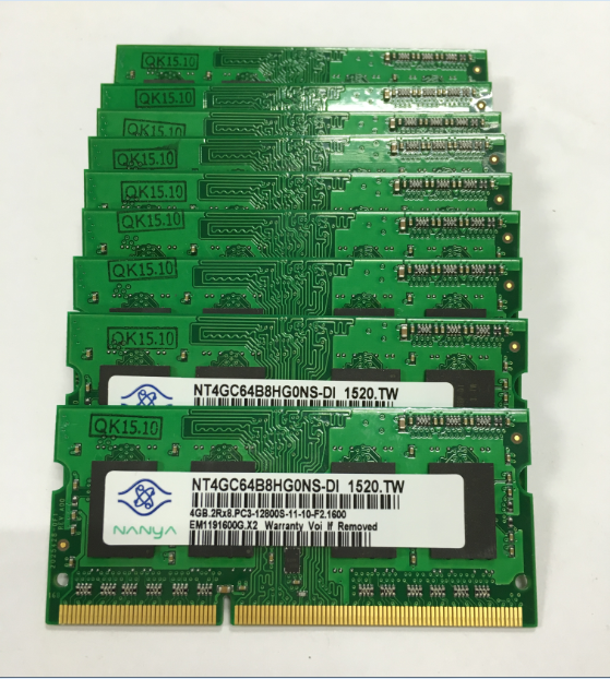 top quality original 8ic chips laptop ram ddr3 2GB 4gb 1600mhz memory modules pc3-12800 204pin sodimm paypal