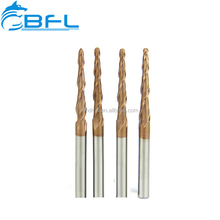 BFL Taper End Mill Wood Cutting Bit,Carbide Cutting Tools For Furniture