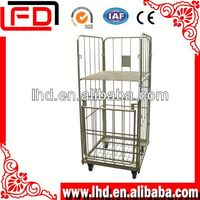 large storage Wire cages with wheels nesting
