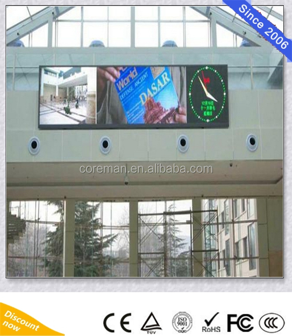 Ad Outdoor Coreman P12 Led Billboard/fullcolor Advertising P10 P12 Led Billboards Signs