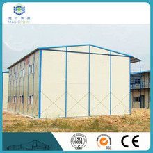 fire resistance reasonable design prefab modular house wall paint colors thermal insulation