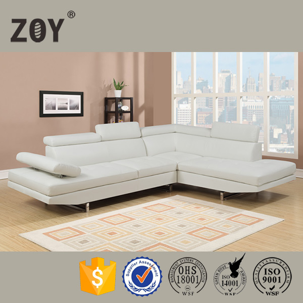 ZOY-97820 Latest Corner Sofa Design Furniture Sofa Leather