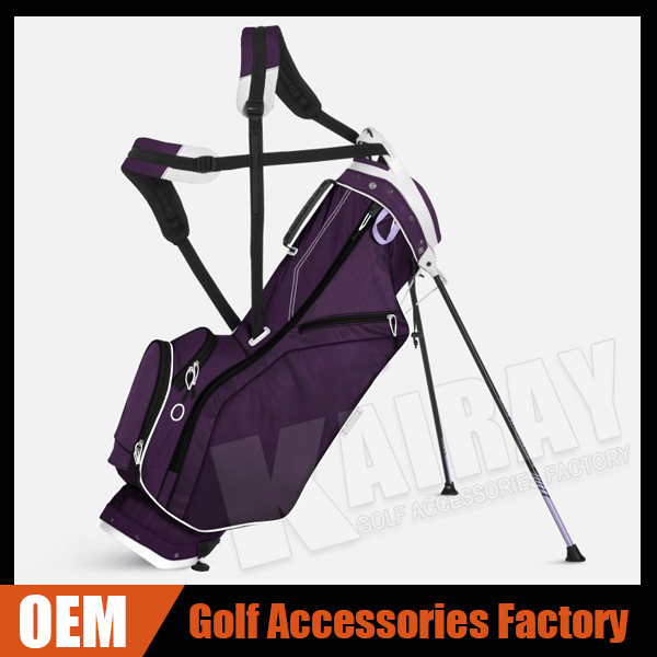 Custom Ladies Golf Bags - X-Double Strap Golf Carry Bag Stand Bags