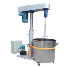 continuous stirred double shaft high viscosity disperser
