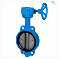 D971X type rubber sealed butterfly valve