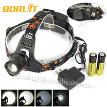 Hot Sales Boruit 2157 Zoom 1800LM CREE XM-L T6 10W Motorcycle LED Headlight