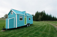 Insulated Recycled with Lamp  reasonable price long service life container house with wheels house