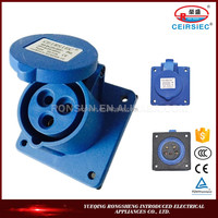 Waterproof Manufacturer Industrial 16A function of socket outlet