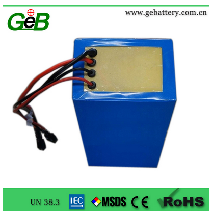 GEB 48V20Ah lipo battery pack for electric vehicle