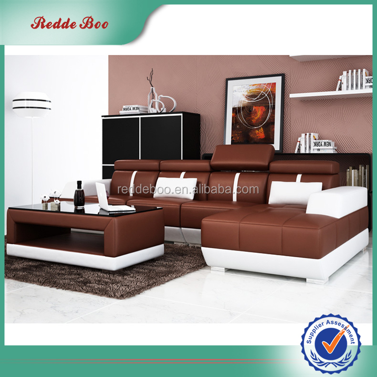 French Style modern sectional apartment corner sofa