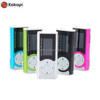 Cheap mini LED Clip screen mp3 music free download,sport mp3 With Screen