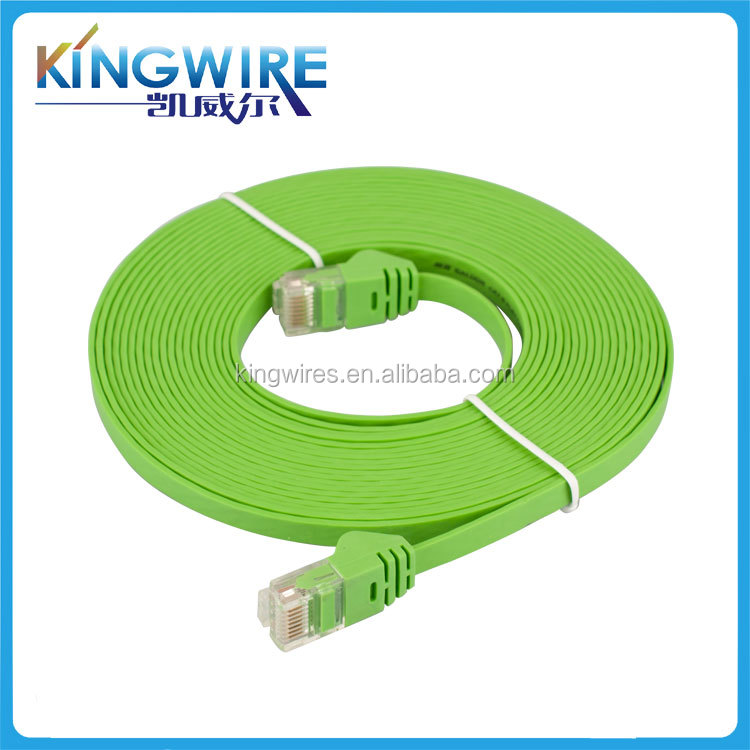 Factory Price flat wire power cord cable hot sale rj45 patch cord cable