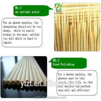 creative 30cm picnic bamboo sticks brochette on sale