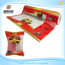 Food/Plastic packaging bag for candy/film roll