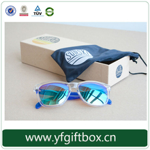 Eco-friendly paper box sunglasses packaging custom design cardboard sunglasses box 100% quality guarantee