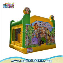 Animals zoo Children Inflatable Bouncers / Bounce House,Indoor Inflatable Bouncers slide for sale