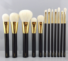 Top quality 12pcs Kabuki Make up Brushes Set Powder Foundation Eyeshadow Eyeliner Lip Brush Tool