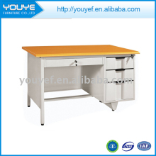 Hot selling modern melamine office desk with low price