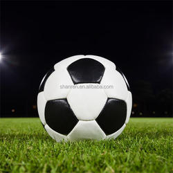 Hot sale PVC leather match football training soccer ball