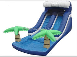 city park sport good quality inflatable slide for water games