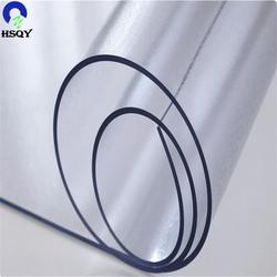 Transparent Plastic Sheet Roll Flexible Clear PVC Film For Table Cover
