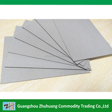 A4 size cheap price grey paper board