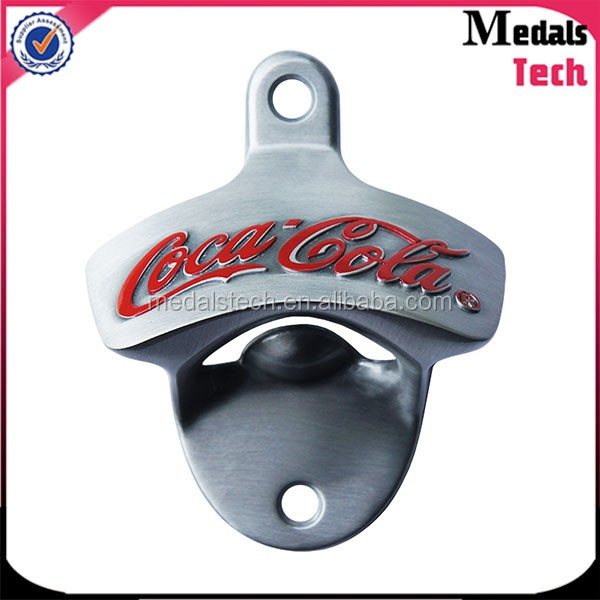 MedalsTech wholsale epoxy printing gitter shape metal musical beer bottle opener