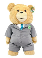 High Quality Plush Standing Teddy Bear In Suit