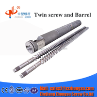 ZHSU high quality double parallel screw barrel parallel screw and cylinder for Bausano extrusion machine