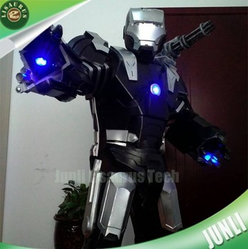 Lisaurus-CH415 cosplay mascot full body armor suit costumes