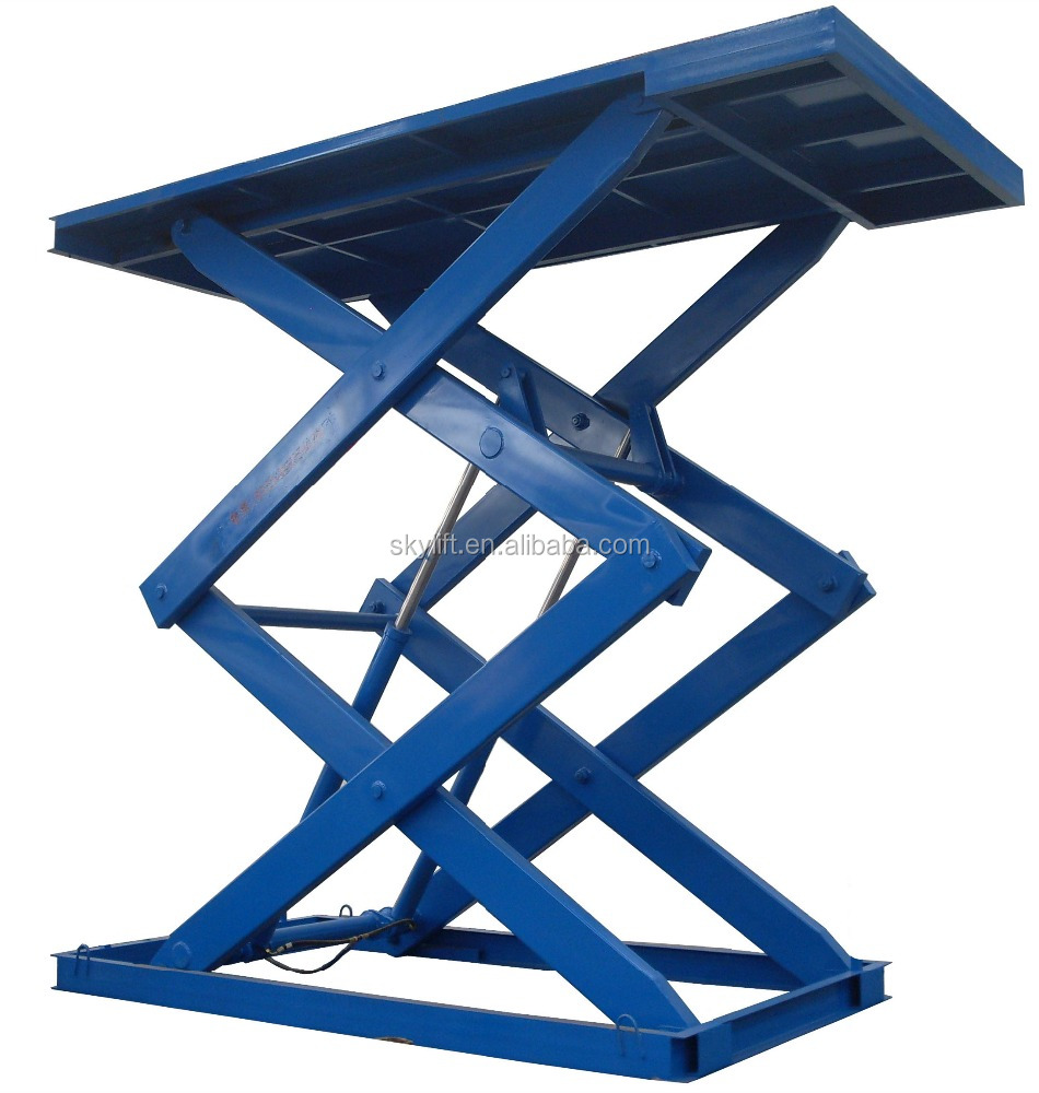 Scissor Lift Mechanism Design : Hydraulic scissor lift table mechanism no overseas service