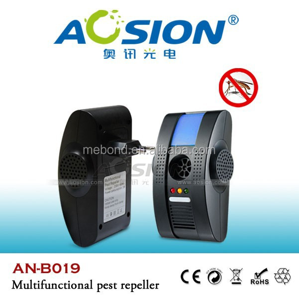 Aosion provide best selling Multifunctional electronic 5 in 1 ultrasonic pest repeller aosion