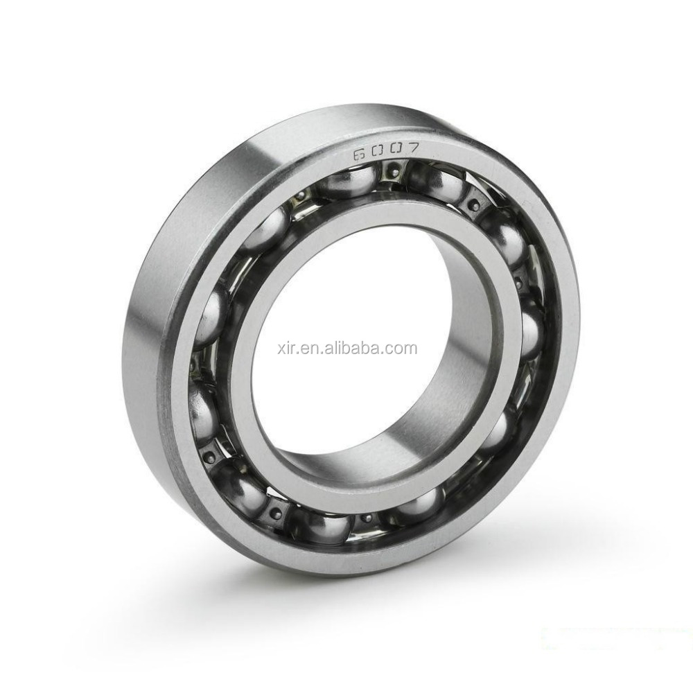 OEM deep groove ball bearing 6007 carbon steel bearing ABEC-1