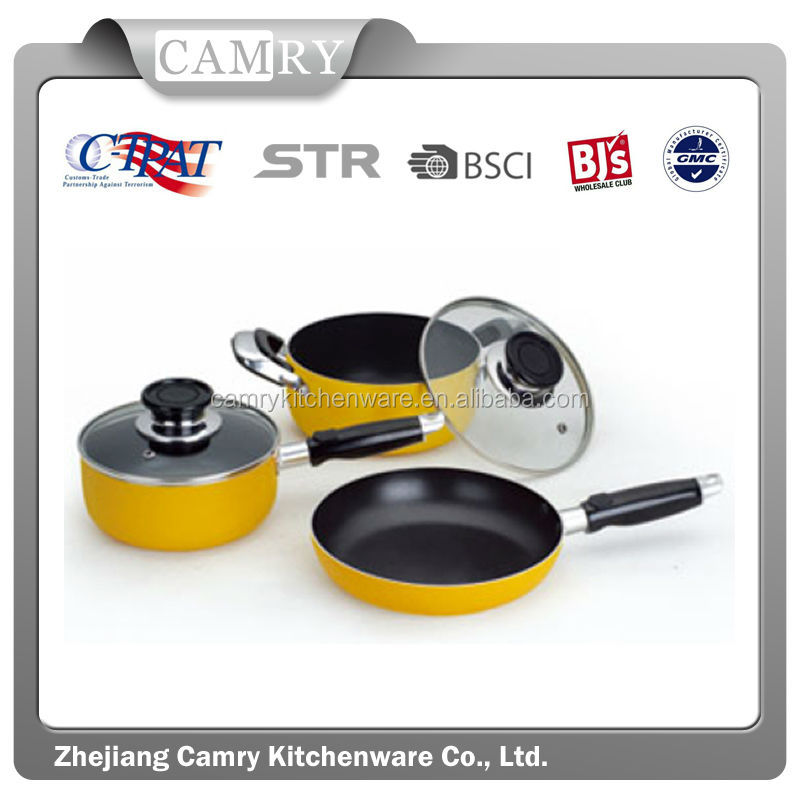 aluminum Pressed Kitchen use cookware set