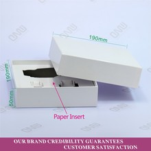 Blank Gift Paper Packaging Box Cosmetic Jar Box