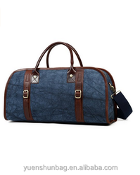 "Travel Tote Duffel Bag Canvas Luggage - 22"" Airplane Carry-on"