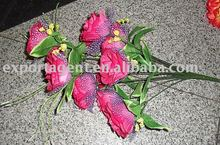 2012 hot sale decorate fake artificial flowers